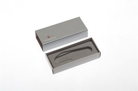 Коробка для ножей VICTORINOX 91 мм толщиной 4-5 уровней, картонная, серебристая - фото 8252