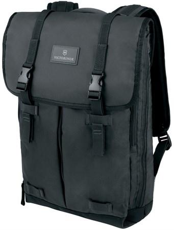 Рюкзак Altmont 3.0 Flapover Backpack 15,6'', чёрный, нейлон Versatek™, 30x10x43 см, 13 л - фото 8288