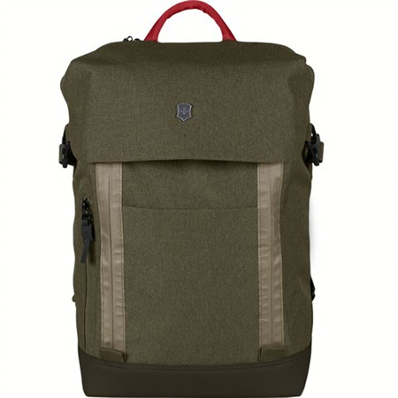 Рюкзак Altmont Classic Deluxe Flapover 15'', зелёный, полиэфир, 29x12x43 см, 18 л - фото 8314