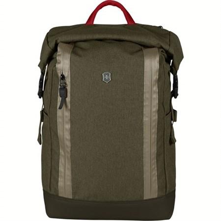 Рюкзак VICTORINOX Altmont Classic Rolltop Laptop 15'', зелёный, полиэфирная ткань, 29x15x44 см, 20 л - фото 8327
