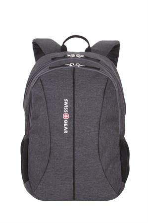 Рюкзак SWISSGEAR 13'', cерый, ткань Grey Heather/ полиэстер 600D PU , 33х16х45 см, 23 л - фото 8983