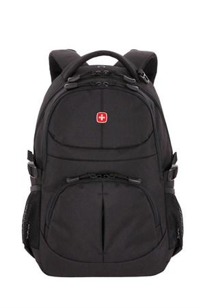 Рюкзак SWISSGEAR чёрный, полиэстер, 33х15х45 см, 22 л - фото 9000