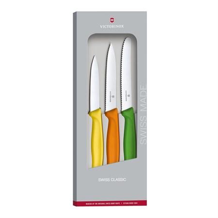 Набор из 3 нож Victorinox Swiss Classic 6.7116.31G - фото 9123