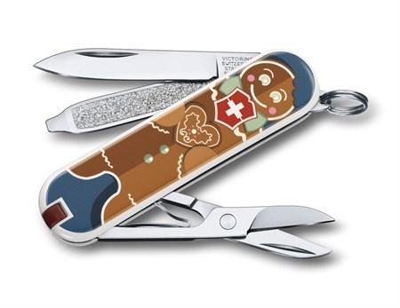 Нож-брелок Gingerbread Love 58 мм 0.6223.L1909 - фото 9184