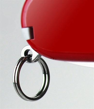 Кольцо для ключей Victorinox (A.3640/10) серебристый d11мм без упаковки (упак.:10шт) - фото 9415