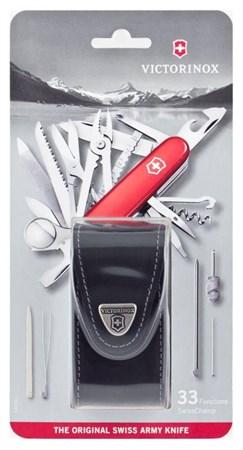Нож перочинный SwissChamp 91 мм 1.6795.LB1 - фото 9453