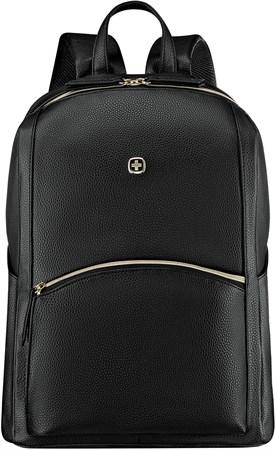 Рюкзак женский WENGER, черный, ПВХ/полиэстер, 31x16x41 см, 18 л - фото 9505