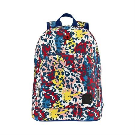 Рюкзак WENGER Crango 16'', цветной с леопардовым принтом, полиэстер 600D, 33x22x46 см, 27 л - фото 9525