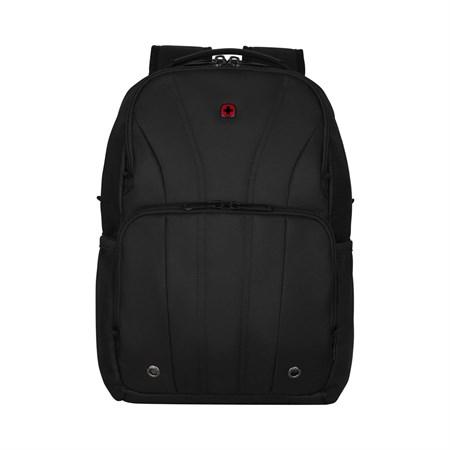Рюкзак для ноутбука 12-14'' WENGER, черный, полиэстер, 30x18x45 см, 18 л - фото 9556
