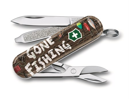 Нож-брелок Victorinox Gone Fishing LE 0.6223.L2005 - фото 9742
