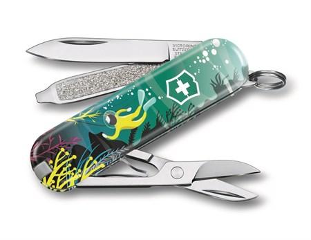 Нож-брелок Victorinox Deep Dive LE 0.6223.L2006 - фото 9746