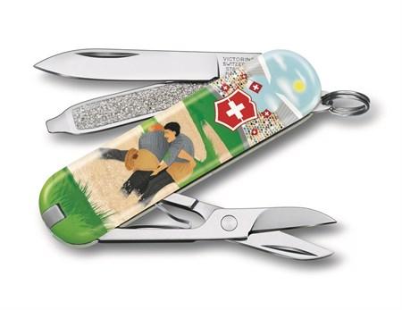 Нож-брелок Victorinox Swiss Wrestling LE 0.6223.L2009 - фото 9758