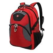 рюкзак , красный/серый/чёрный, полиэстер, 34х17х47, 26 л / Wenger