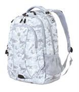 рюкзак , серый камуфляж, полиэстер, 900D, 48х37х19 см, 34 л / Wenger