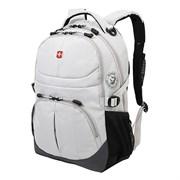 рюкзак , серый, полиэстер, 33х15х45 см, 22 л / Wenger