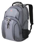 рюкзак , серый/серебристый, полиэстер 900D/М2 добби, 34x16x48 см, 26 л / Wenger