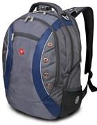 рюкзак , серый/синий, полиэстер 900D, 36х21х47 см, 35 л / Wenger