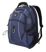 рюкзак , синий/серебристый, полиэстер 900D/М2 добби, 34x23x48 см, 38 л / Wenger