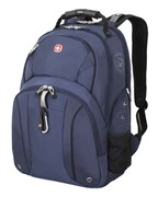 рюкзак , синий/чёрный, полиэстер 900D/М2 добби, 34x16x48 см, 26 л / Wenger