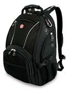 рюкзак , синий/чёрный, полиэстер 900D/М2 добби, 36x19x47 см, 32 л / Wenger