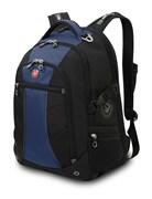 рюкзак , синий/чёрный, полиэстер 900D/рипстоп, 36x19x47 см, 32 л / Wenger