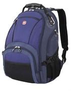 рюкзак , синий/чёрный, полиэстер 900D/хонейкомб, 35x19x44 см, 29 л / Wenger
