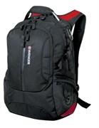 рюкзак , черный/красный, полиэстер 1200D, 36х17х50 см, 30 л / Wenger