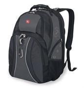 рюкзак , черный/серый, полиэстер 900D, 34х23х47 см, 36 л / Wenger