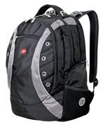 рюкзак , черный/серый, полиэстер 900D, 36х21х47 см, 35 л / Wenger