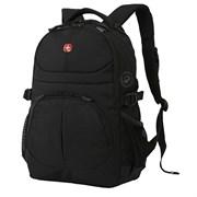 рюкзак , чёрный, полиэстер, 33х15х45 см, 22 л / Wenger