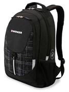 рюкзак , чёрный/серый, полиэстер 600D/М2 добби, 32x14x45 см, 20 л / Wenger