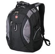 рюкзак , чёрный/серый, полиэстер 900D, 35х23х48 см, 39 л / Wenger