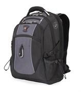 рюкзак , чёрный/серый, полиэстер 900D/420D/М2 добби, 34x23x48 см, 38 л / Wenger