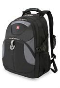 рюкзак , чёрный/серый, полиэстер, 34х17х47, 26 л / Wenger