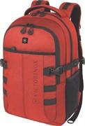 рюкзак VX Sport Cadet 16'', красный, полиэстер 900D, 33x18x46 см, 20 л / Victorinox