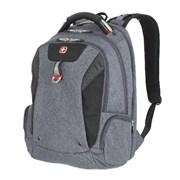 Рюкзак WENGER 15'' «SCANSMART», cерый, ткань Grey Heather/ полиэстер 600D PU , 32х24х46 см, 35 л