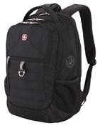 Рюкзак WENGER 15'', черный, полиэстер 600D PU , 34х19х46 см, 29 л