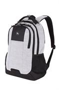 Рюкзак WENGER 18'', светло-серый, ткань Grey Heather/М2 добби, 34,3x17,8x47 см, 26 л