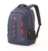 Рюкзак WENGER темно-синий, полиэстер 900D, 44х35х18 см, 28 л