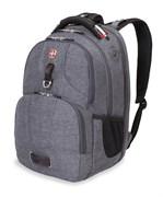 Рюкзак WENGER, серый, ткань Grey Heather/полиэстер 900D PU, 47х34х20 см, 31 л