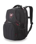 Рюкзак WENGER, черный, полиэстер 900D, 36х21х47 см, 35 л
