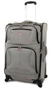 """чемодан """"ZURICH Spinner"""", серый, полиэстер, 46х27x71 см, 88 л / Wenger"""