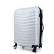 чемодан FRIBOURG, серебристый, АБС-пластик, 46x30x70 см, 97 л / Wenger