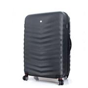 чемодан FRIBOURG, чёрный, АБС-пластик, 46x30x70 см, 97 л / Wenger