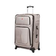 Чемодан WENGER SION, светло-серый, полиэстер 750x750D добби, 46x29x80 см, 90 л