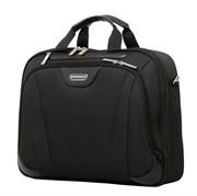 """сумка 17"""", черный, с одним отделением, полиэстер 43х10x33 см (17л) / Wenger"""