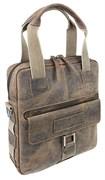 """сумка вертикальная """"ARIZONA"""", коричневый, кожа, 35x9x37 см / Wenger"""