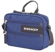 Сумка для документов WENGER, синий, полиэстер 600D, 23x5x18 см