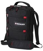 сумка-планшет , черный, полиэстер M2, 22x9x29 см / Wenger