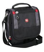 сумка-планшет , черный/серый, 15х5х22 см / Wenger